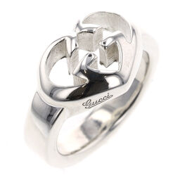 Gucci GUCCI Interlocking G Heart Ring / Ring Silver 925 No. 11 Silver Ladies K01103786