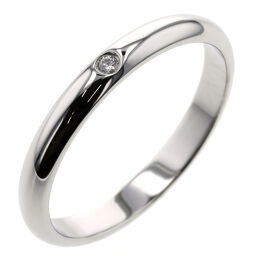 <html>    <body>   カルティエ CARTIER 1895 ウェディング 1P 約2.6mm リング・指輪 B4057700 プラチナPT950/ダイヤモンド ダイヤモンド 11号 シルバー レディース K01104845        </body> </html>