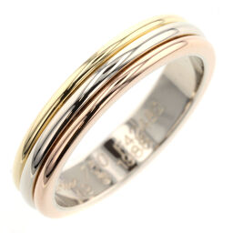 Cartier CARTIER Trinity Wedding Rings / Rings K18 Yellow Gold / K18 White Gold / K18 Pink Gold No. 8.5 Gold Ladies K01116204