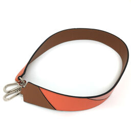 LOEWE Degrade Shoulder Strap Leather Orange Ladies K01117013