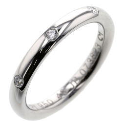 Van Cleef & Arpels Tandormon Etoile 3PD Ring / Ring Platinum PT950 / Diamond Diamond No. 8 Silver Ladies K01118157