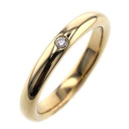 <html>    <body>   ティファニー TIFFANY&amp;Co. スタッキングバンド 1PD 幅約2.7mm リング・指輪 K18イエローゴールド/ダイヤモンド ダイヤモンド 6.5号 ゴールド レディース K01118170        </body> </html>