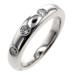 Van Cleef & Arpels New York Marriage 4PD Rings & Rings Platinum PT950 / Diamond Diamond No. 6 Gold Ladies K01202275