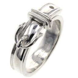 Hermes HERMES Saint Tulle Ring / Ring Silver 925 No. 12 Silver Ladies K01222488