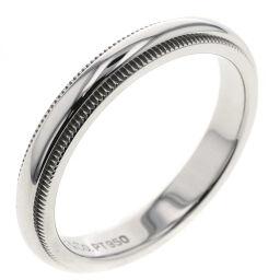 <html>    <body>   ティファニー TIFFANY&amp;Co. ミルグレインバンド 幅約3mm リング・指輪 プラチナPT950 11.5号 シルバー レディース K10120671        </body> </html>