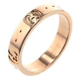 <html>    <body>   グッチ GUCCI アイコン 幅約4mm リング・指輪 K18ピンクゴールド 9号 ゴールド レディース K10120784        </body> </html>