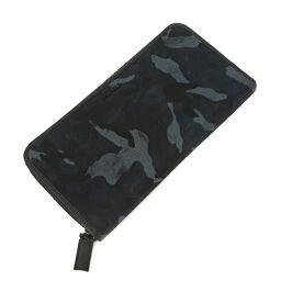 <html>    <body>   プラダ PRADA 迷彩カモフラ ラウンドファスナー ブラック グレー ブルー カード 箱 未使用品 長財布 2ML317 ナイロン素材 ブラック メンズ K10122582        </body> </html>
