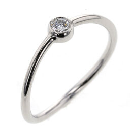 <html>    <body>   ティファニー TIFFANY&amp;Co. ウェーブ シングルロウ ダイヤ リング・指輪 プラチナPT950/ダイヤモンド ダイヤモンド 6号 シルバー レディース K10203879        </body> </html>