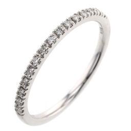 スタージュエリー STAR JEWELRY マイクロ セッティング ハーフエタニティ 0.08ct リング・指輪 2ZR1234  K18ホワイトゴールド/ダイヤモンド ダイヤモンド0.08ct 4号 シルバー レディース K10203881