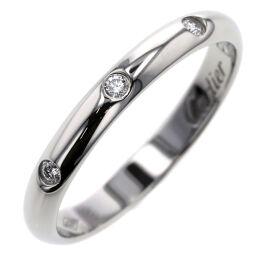 <html>    <body>   カルティエ CARTIER クラシックウェディング 3P 約2.6mm リング・指輪 プラチナPT950/ダイヤモンド ダイヤモンド 9号 シルバー レディース K10203897        </body> </html>