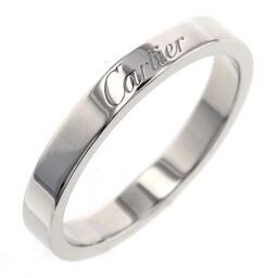 Cartier CARTIER Engraved Wedding Rings / Rings B4054000 Platinum PT950 No. 16 Silver Men's K10205973