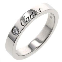 <html>    <body>   カルティエ CARTIER エングレーブド ウェディング 1P 幅約3mm リング・指輪 B4051300 プラチナPT950/ダイヤモンド ダイヤモンド 6号 シルバー レディース K10205974        </body> </html>