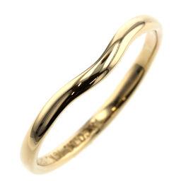 <html>    <body>   ティファニー TIFFANY&amp;Co. カーブドバンド 幅約2mm リング・指輪 K18イエローゴールド 15号 ゴールド メンズ K10210003        </body> </html>