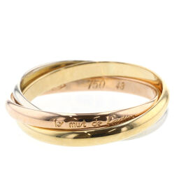 Cartier CARTIER Trinity Ring / Ring K18 White Gold / K18 Yellow Gold / K18 Pink Gold No. 8 Gold Ladies K10217081