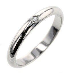Cartier CARTIER 1895 Wedding Ring / Ring B4057700 Platinum PT950 / Diamond Diamond 0.01ct No. 9 Silver Ladies K10217090