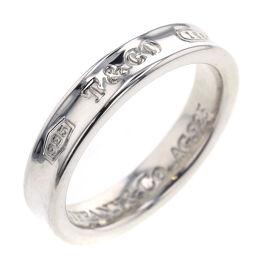 Tiffany TIFFANY & Co. 1837 Narrow Ring / Ring Silver 925 No. 10 Silver Ladies K10219122