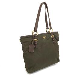 Prada PRADA 2WAY Shoulder Bag Nylon Khaki Men's K10219194