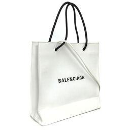 Balenciaga BALENCIAGA Shopping Tote S 2WAY Shoulder Bag 568813 Leather White Ladies K10224322
