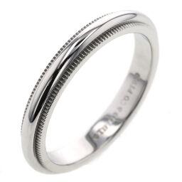 <html>    <body>   ティファニー TIFFANY&amp;Co. ミルグレインバンド 幅約3mm リング・指輪 プラチナPT950 11号 シルバー レディース K10303208        </body> </html>