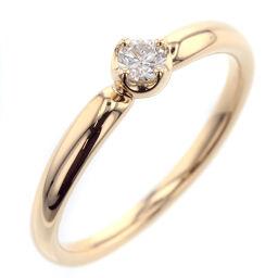 4 ℃ Yondoshi Diamond Ring 1P Ring / Ring K18 Yellow Gold / Diamond Diamond No. 8 Gold Ladies K10305349