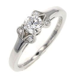 Cartier CARTIER Ballerina Solitaire D0.32ct H VVVS2 3EX NONE Ring / Ring N4198000 Platinum PT950 / Diamond Diamond 0.32ct No. 8 Silver Ladies K10306357