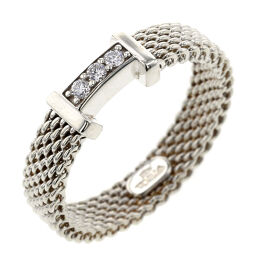<html>    <body>   ティファニー TIFFANY&amp;Co. サマセット 3P リング・指輪 SV925/ダイヤモンド ダイヤモンド 9号 シルバー レディース K10309295        </body> </html>