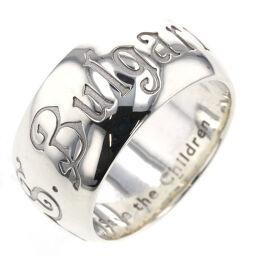 Bvlgari BVLGARI Save the Children Charity Ring / Ring Silver 925 No. 12 Silver Men's K10309296