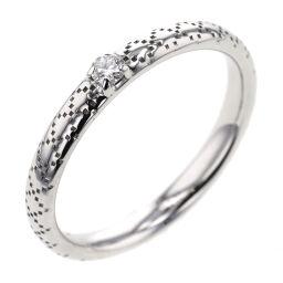 <html>    <body>   グッチ GUCCI ディアマンティッシマ 1P 幅約2.5mm リング・指輪 K18ホワイトゴールド/ダイヤモンド ダイヤモンド 10.5号 シルバー レディース K10319774        </body> </html>