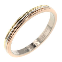 Cartier CARTIER Three Color Width Approximately 3mm Ring / Ring K18 Yellow Gold / K18 White Gold / K18 Pink Gold No. 25 Gold Men's K10414335