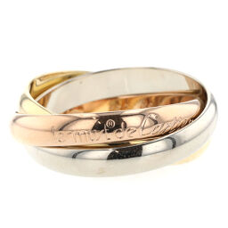 Cartier CARTIER Trinity Ring / Ring K18 White Gold / K18 Yellow Gold / K18 Pink Gold No. 16 Gold Men's K10414348