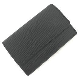 Louis Vuitton LOUIS VUITTON Multikre 6 Key Case M63812 Epi Black Men's K10414358