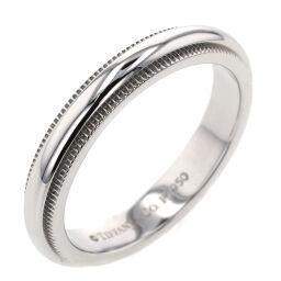 <html>    <body>   ティファニー TIFFANY&amp;Co. ミルグレインバンド 幅約3mm リング・指輪 プラチナPT950 8号 シルバー レディース K10421464        </body> </html>