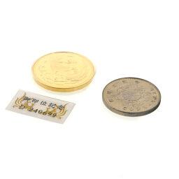 no brand His Majesty the Emperor's reign commemorative coin set 100,000 yen coin 500 yen coin gold coin pure gold / copper gold men's K10515163