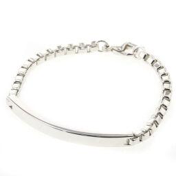 Tiffany TIFFANY & Co. Venetian ID Bracelet Silver 925 Silver Ladies K10518052