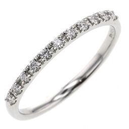 VANDOME AOYAMA Half Eternity 11P Ring / Ring APVR046307DI Platinum PT950 / Diamond Diamond 0.11ct No. 7 Silver Ladies K10602291