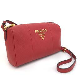 Prada PRADA VITELLO PHOENIX Shoulder Bag 1BH157 Calf Leather ROSSO Red Ladies K10702675