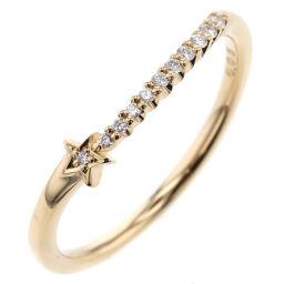 Star Jewelry STAR JEWELRY Star D0.05ct Ring / Ring K18 Yellow Gold / Diamond Diamond 0.05ct No. 11 Gold Ladies K10707814