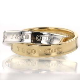 Tiffany TIFFANY & Co. 1837 Interlocking Circle Rings / Rings K18 Yellow Gold / SV925 No. 9 Gold Ladies K10728115