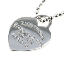 Tiffany TIFFANY & Co. Return to Heart Tag Necklace Silver 925 Silver Ladies K10803147