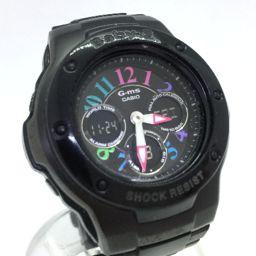 カシオ CASIO マルチカラー 腕時計 MSG-302CB BABY-G  ステンレススチール ブラック レディース K40228535