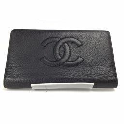 シャネル CHANEL ココマーク  長財布  レザー ブラック レディース K70523004-15L