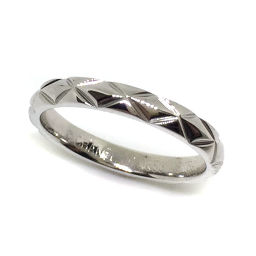 シャネル CHANEL リング・指輪 マトラッセ  プラチナPT950 5.5号 シルバー レディース K71113398