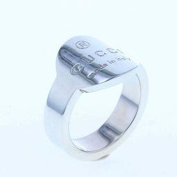 グッチ GUCCI ロゴ サークル  リング・指輪  シルバー925 16.5号 シルバー レディース K71127771