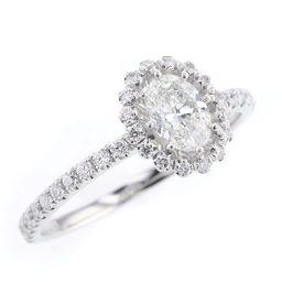 アーカー AHKAH PEME ビリーブインオーバル ダイヤモンド 0.304ct 0.19ct リング・指輪  プラチナPT900 ダイヤモンド0.304ct ダイヤモンド0.19ct 5.5号 シルバー レディース K71213723