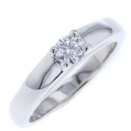 ブルガリ BVLGARI マリーミー マリッジ 約0.2ct リング・指輪  プラチナPT950/プラチナPT950 ダイヤモンド 8号 シルバー レディース K80131172