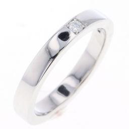 ブルガリ BVLGARI マリーミー 1P  リング・指輪  Pt950/ダイヤモンド ダイヤモンド約0.05ct 10号 シルバー レディース K80613045
