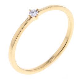 エテ ete ダイヤモンド 0.04ct リング・指輪  K18イエローゴールド/ダイヤモンド ダイヤモンド0.04ct 11号 ゴールド レディース K80613064