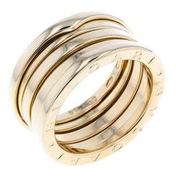 ブルガリ BVLGARI ビーゼロワン リング・指輪 3バンド Sサイズ  K18イエローゴールド 15号 ゴールド メンズ K80613089