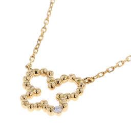 アーカー AHKAH ミルバタフライ ネックレス  K18イエローゴールド/ダイヤモンド ダイヤモンド ゴールド レディース K80613129