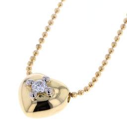 アーカー AHKAH ハート ダイヤモンド 0.05ct ネックレス  K18イエローゴールド/ダイヤモンド ダイヤモンド0.05ct ゴールド レディース K80613134